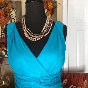 Donna Morgan Dresses - Donna morgan| women's 100% silk dress